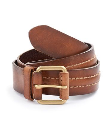 Joules WARD Mens Leather Belt, Tan. Practical, timeless and stylish. What more could you ask of from a belt?