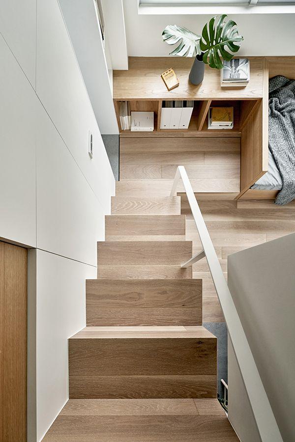 Voici Un Des Plus Petits Et Ingenieux Studios Presentes Sur Le Blog Micro Appartement Amenagement Petit Appartement Petit Appartement