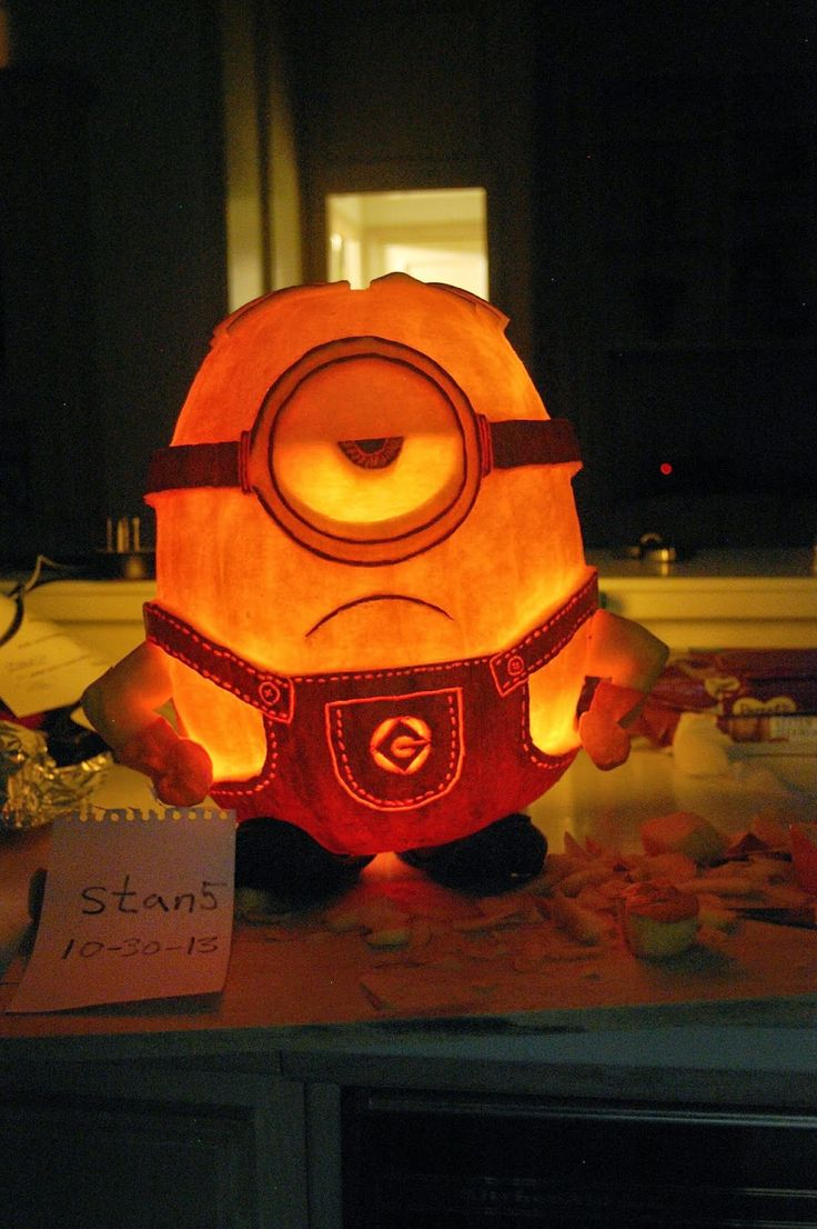 Best 25+ Minion pumpkin carving ideas only on Pinterest | Minion ...