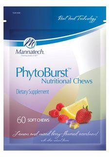 PhytoBurst Nutritional Chews | Mannatech