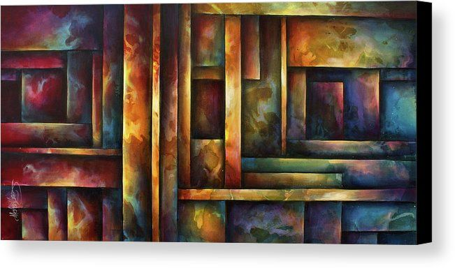 ' Levels Of Order ' Canvas Print by Michael Lang. All canvas prints are professionally printed, assembled, and shipped within 3 - 4 business days and delivered ready-to-hang on your wall. Choose from multiple print sizes, border colors, and canvas materials.