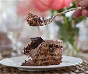 MOCHA CHOCOLATE ICEBOX CAKE!