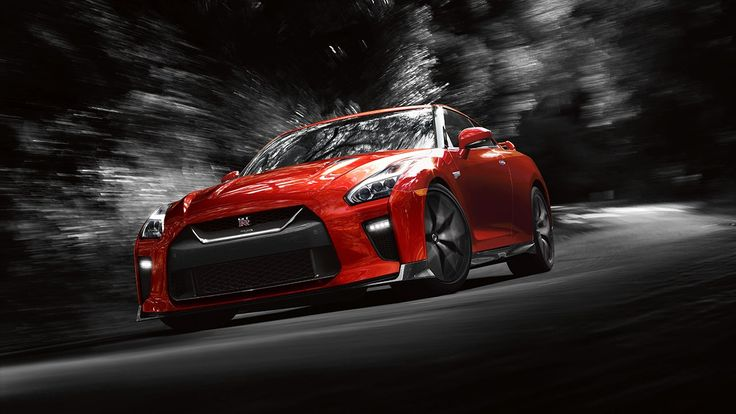 2017 Nissan GT-R in Red The GT-R is my dream car,although  not necessarily in red
