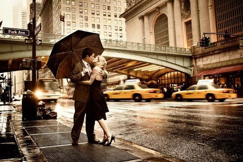 The kiss in NYC