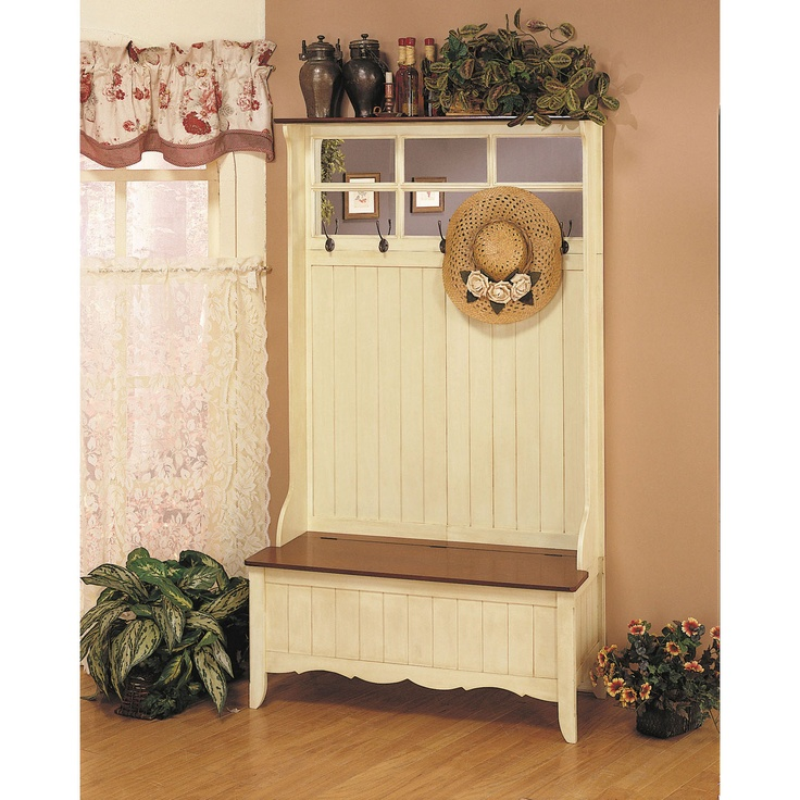 Powell Hall Tree With Storage Bench For The Home Pinterest