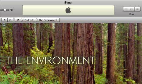 The Green Room: iTunes' Section for Environmental Podcasts : TreeHugger