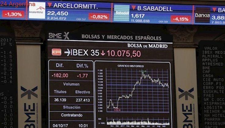 Referéndum en Cataluña: se desploma a Bolsa de Madrid