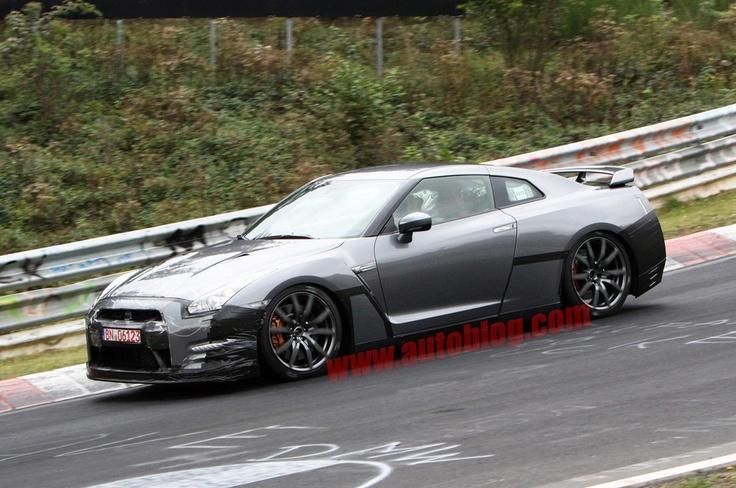 Nissan GT-R 2014 Spy