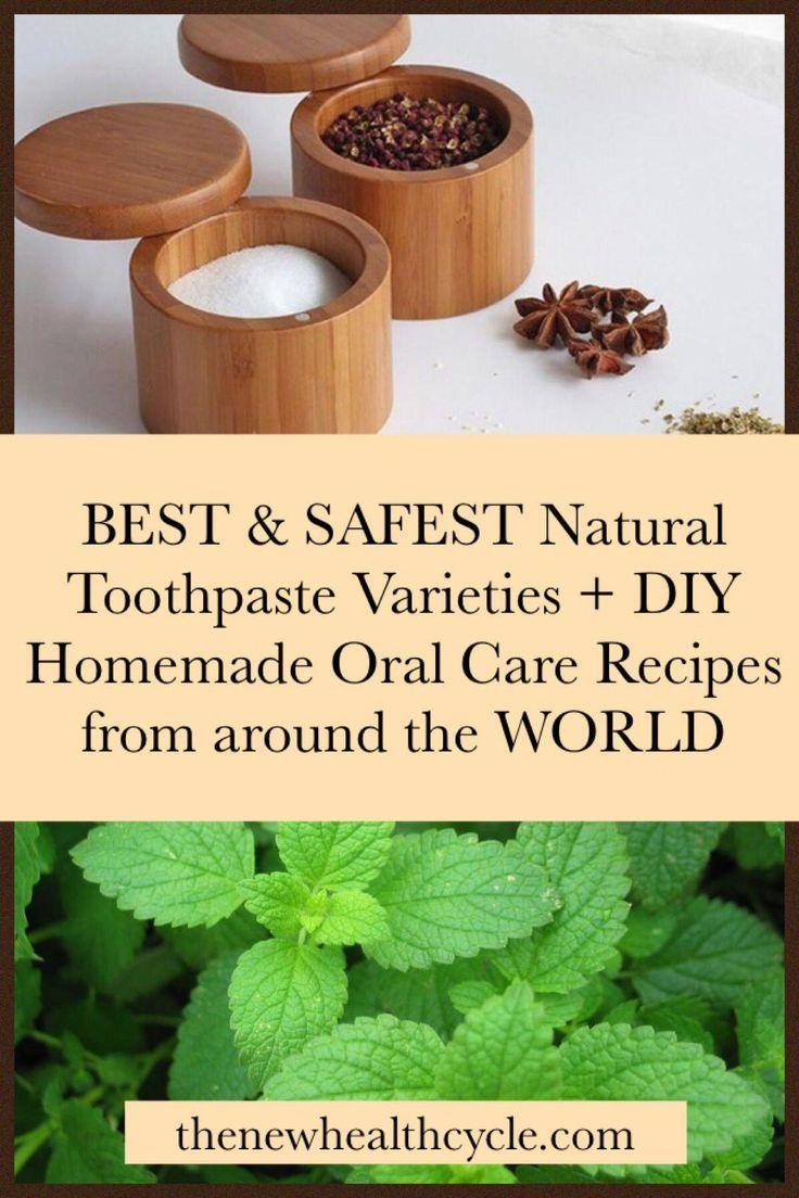 Empfohlene natürliche Zahnpasta Sorten mit hausgemachten DIY Mundpflege Zutaten …