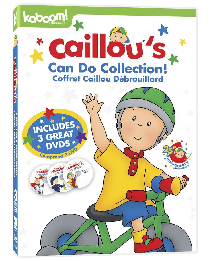 Caillou's Can Do Collection
