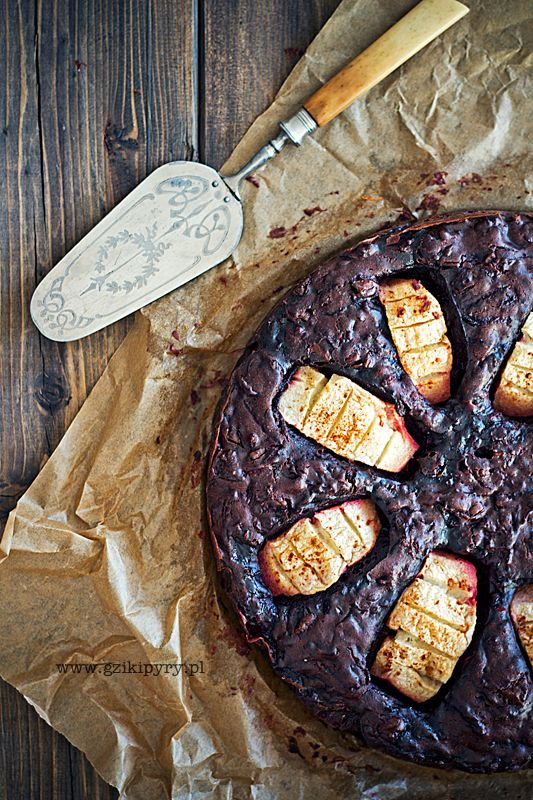 Chocolate cake with beets