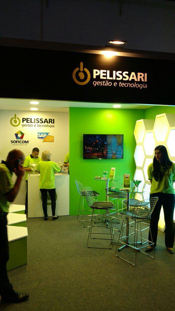 Projeto desenvolvido para a empresa Pelissari, participação no evento Sap Forum Brasil 2016.