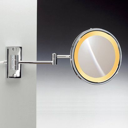 Lighted Bathroom Mirrors Magnifying: Wall Mounted Magnifying Mirror,Lighting