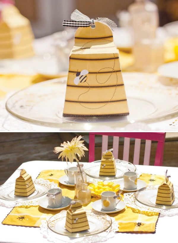 """Just The Bee S Knees Boys Bathroom Inspiration And A Mood: """"Just BEE-Cause"""" Backyard Bumble Bee Tea Party // Hostess"""