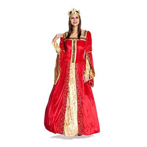Kostümplanet® Königin-Kostüm Damen Deluxe Königinnen-Kost... https://www.amazon.de/dp/B018K3IEGK/ref=cm_sw_r_pi_dp_x_91vYzbBSX9V30