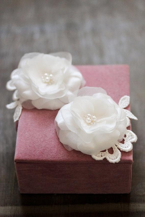 TESSA bridal headpiece wedding hair accessory by percyhandmade