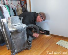 """DIY - Clean your own Air Ducts. I have been wanting to clean my air ducts for years. We live in an old house, we run gas heat as well as have a wood burning furnace and I imagine the ducts are filthy. My husband thinks paying someone to clean the ducts is a waste. Definitely adding this to his """"Honey-Do List"""" #OneHourHeating/Air #NashvilleTN #Duct"""