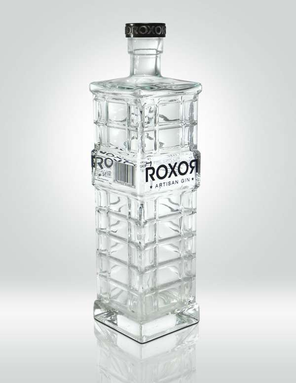 Roxor Artisan Gin #packaging