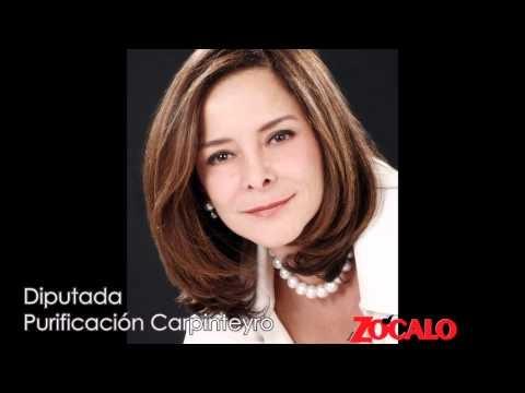 Revista Zócalo entrevista a Purificación Carpinteyro sobre el desprestigio de un video transmitido en Matutino Express