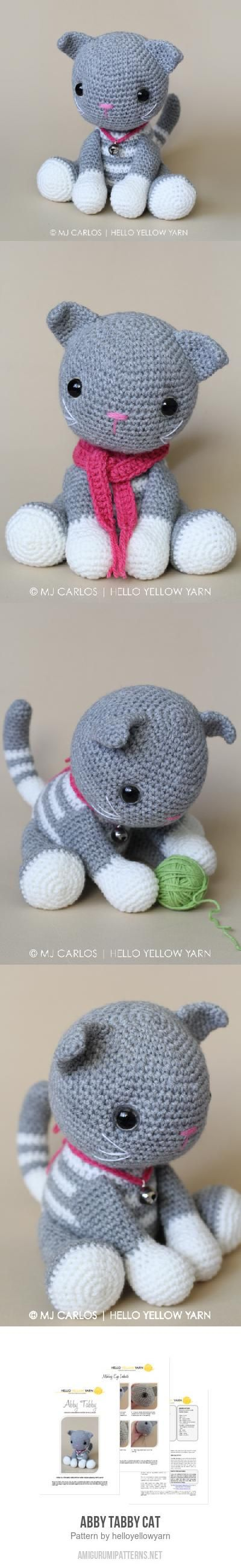 Abby Tabby Cat Amigurumi Pattern