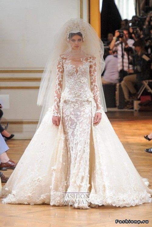 Zuhair Murad haute couture осень-зима 2013-2014