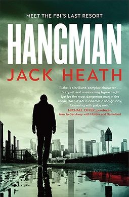 Hangman by Jack Heath introduces us to Timothy Blake, a sociopathic puzzle solver with some unsavoury habits, and often the FBI's last resort.
