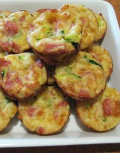Mini Quiches - Great for party finger food or ideal to pop into the school lunch box. Delicious served hot or cold. - Kaye