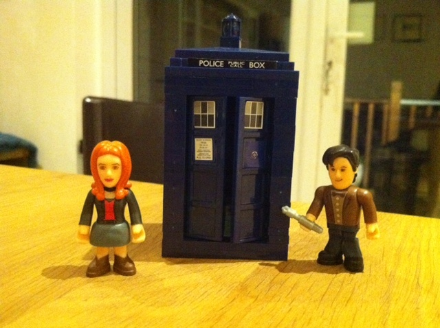 Dr Who lego!