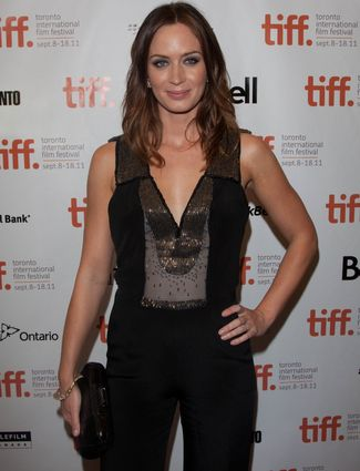 """In 2007, Emily Blunt may have won a Golden Globe for her role in Gideon's Daughter, but she couldn't stop gushing about her shapewear. She said, """"I'm wearing a full body Spanx – I love it!"""" If we looked as good as Emily did, we'd be gushing about our Spanx too!"""