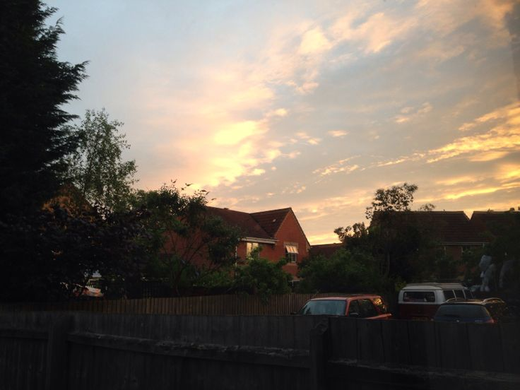 Evening skies record - By ifourdezign - 21 May 2014 (pic1)