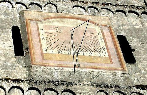 Susa - Piazza San Giusto, campanile  #TuscanyAgriturismoGiratola