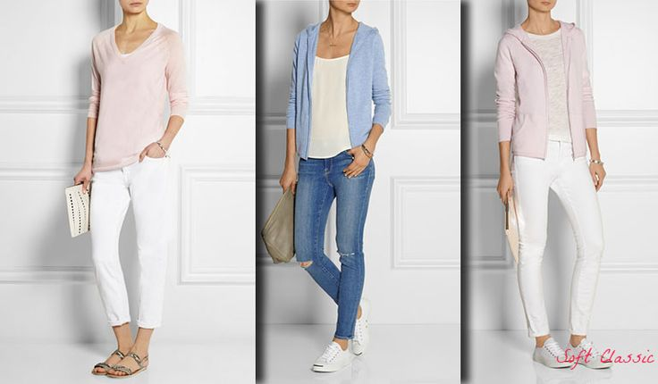 Casual style for Soft Classic (Kibbe). Typ urody Soft Classic – Miss Gracji