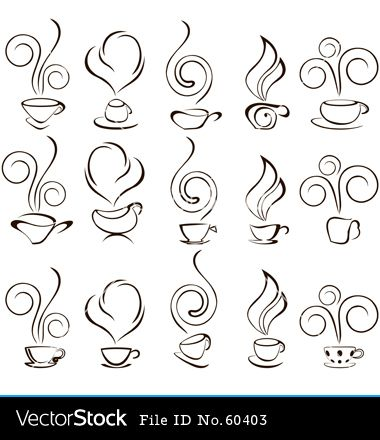 Coffee Cup Icon Vector Art Download Coffee Vectors | Tattoo Design ...