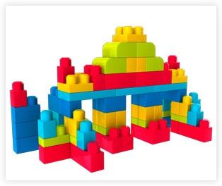 Mega Bloks Building Instructions | kids stuf | Mega blocks, Lego
