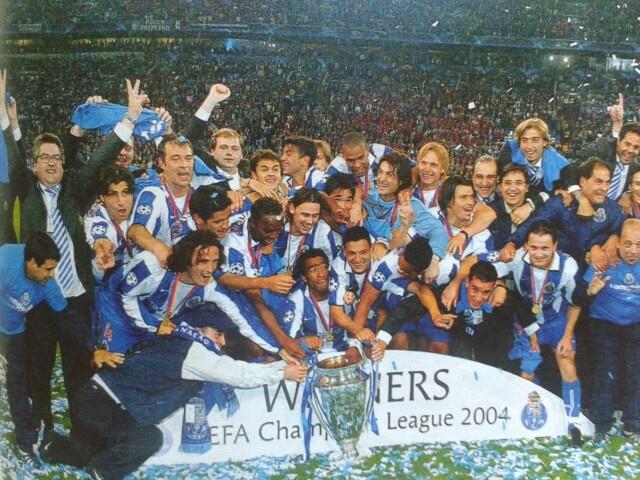 Champions league sieger 2003/04 FC Porto