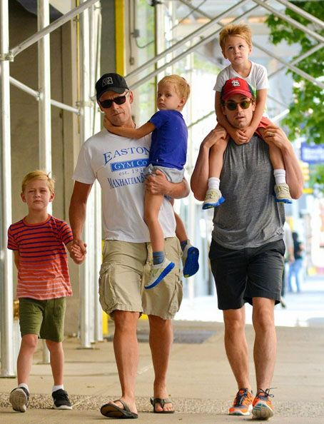 Matt Bomer & Family