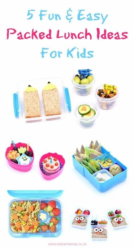 #ad 5 quick easy and fun packed lunch ideas for kids – perfect for back to school – from Eats Amazing UK with Capri-Sun Fruit Crush