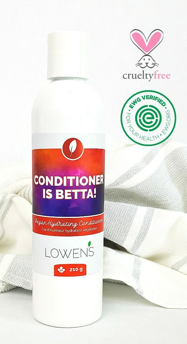 Conditioner Is Betta Biodegradable Conditioning Rinse By Lowens Ca Our Cruelty Free Condi Natural Skin Care Natural Skin Care Companies Biodegradable Products