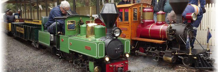 Diamond Valley Railway Inc. | Eltham, Victoria, Australia - http://www.dvr.com.au/index.php