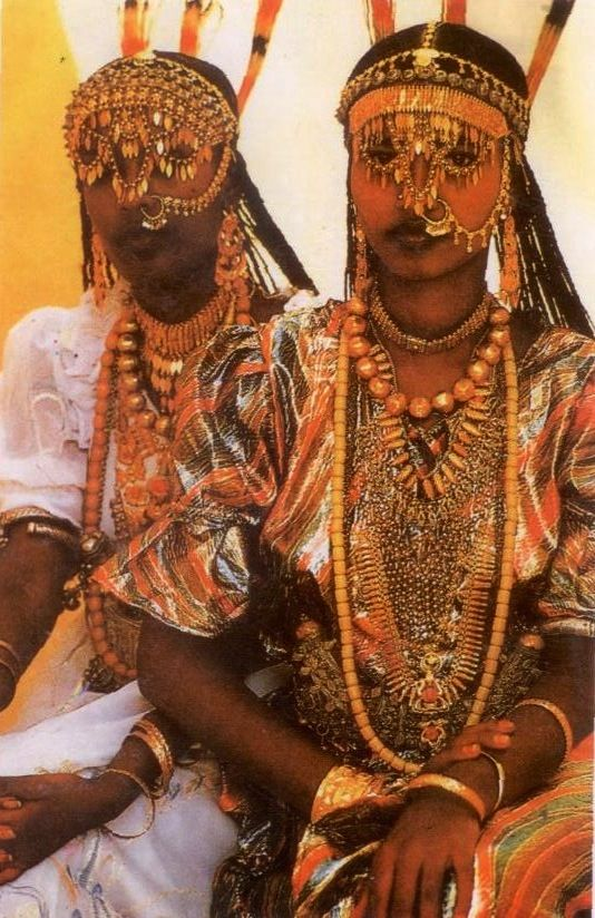 Afar woman Tadjoura Djibouti  Antique Ancient Trade  Ethnic Beads  Ethiopian dress
