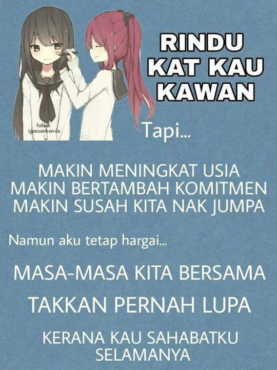 Caption Bersama Sahabat 5
