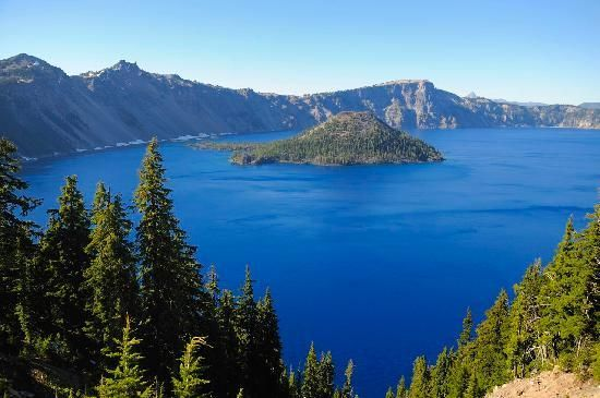 crater lake - Google Search