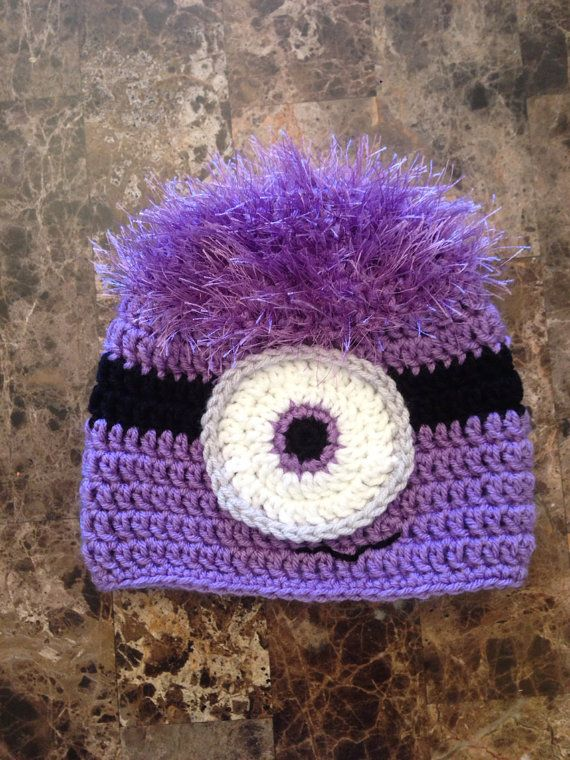 Free Crochet Pattern Purple Minion Legitefo For