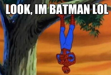 Spider-Man, stop being Batman.