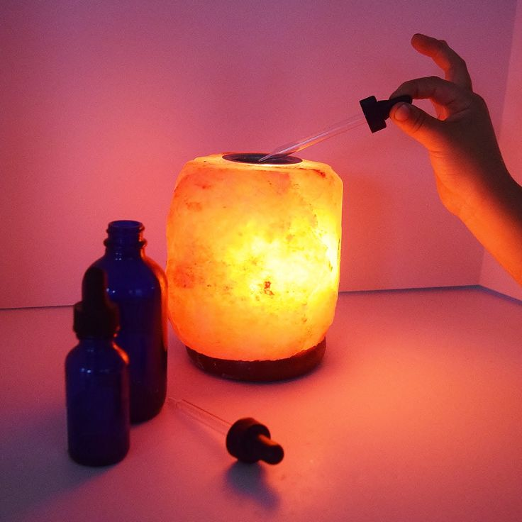 Himalayan Salt Mini (3-5lb) Aromatherapy Lamp The smalls, Essential oils and Minis