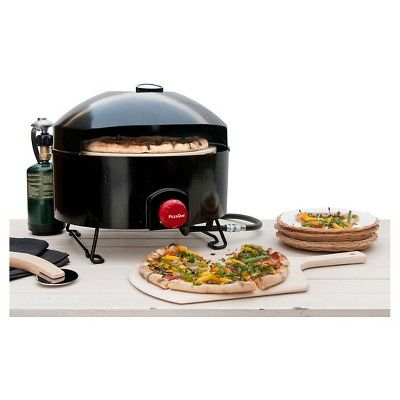 Outdoor Cooker And Fryer 12.3in - Black - Pizzacraft