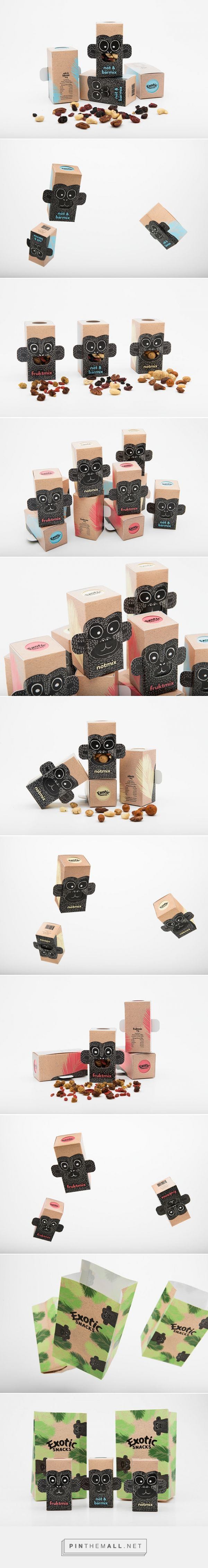 Exotic Snacks Kids Selection a Student Project by Brobygrafiska School in Sweden - created via http://pinthemall.net
