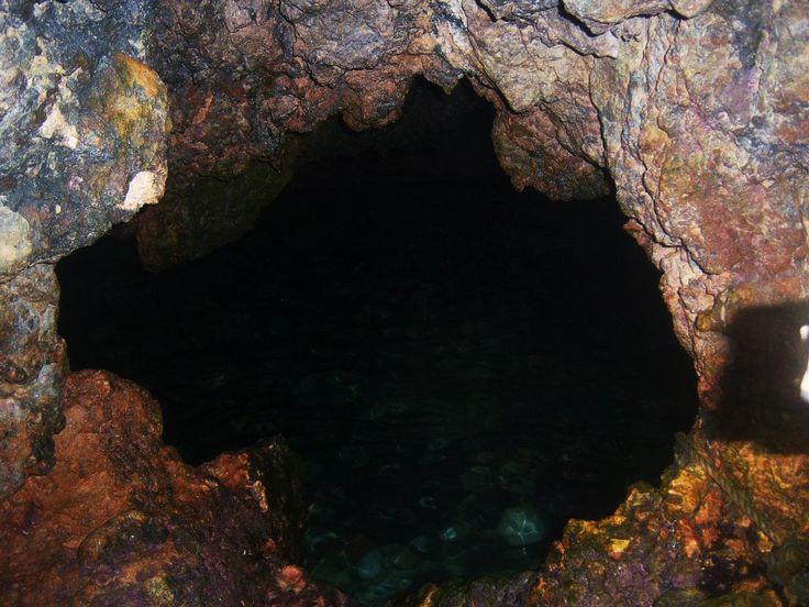 Underground cave. Puerto Galera, Oriental Mindoro, Philippines.