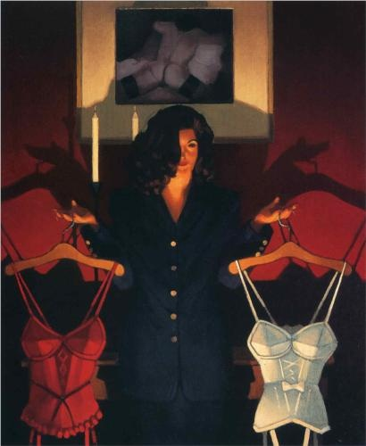 Heaven or Hell: The Sweetest Choice - Jack Vettriano