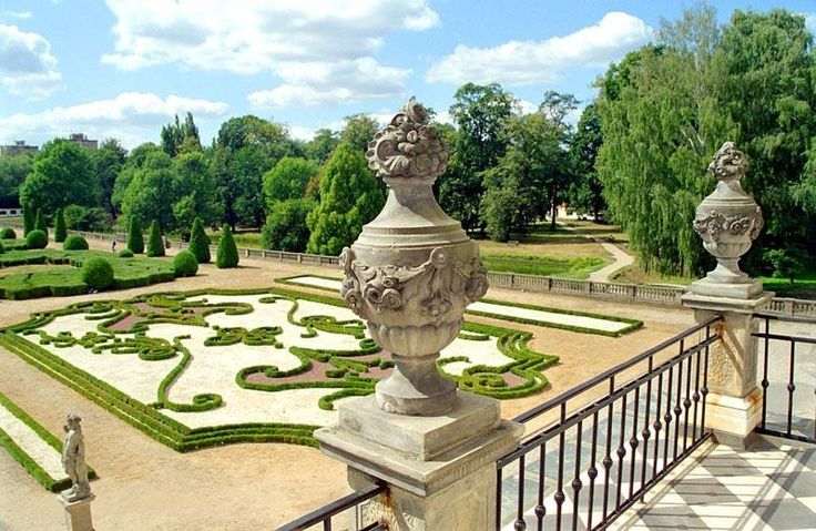 Garden à la française of the Branicki Palace in Białystok.